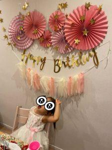 誕生日デコレーション